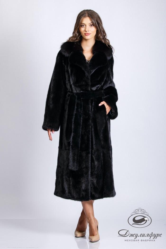Пальто из норки М-2109