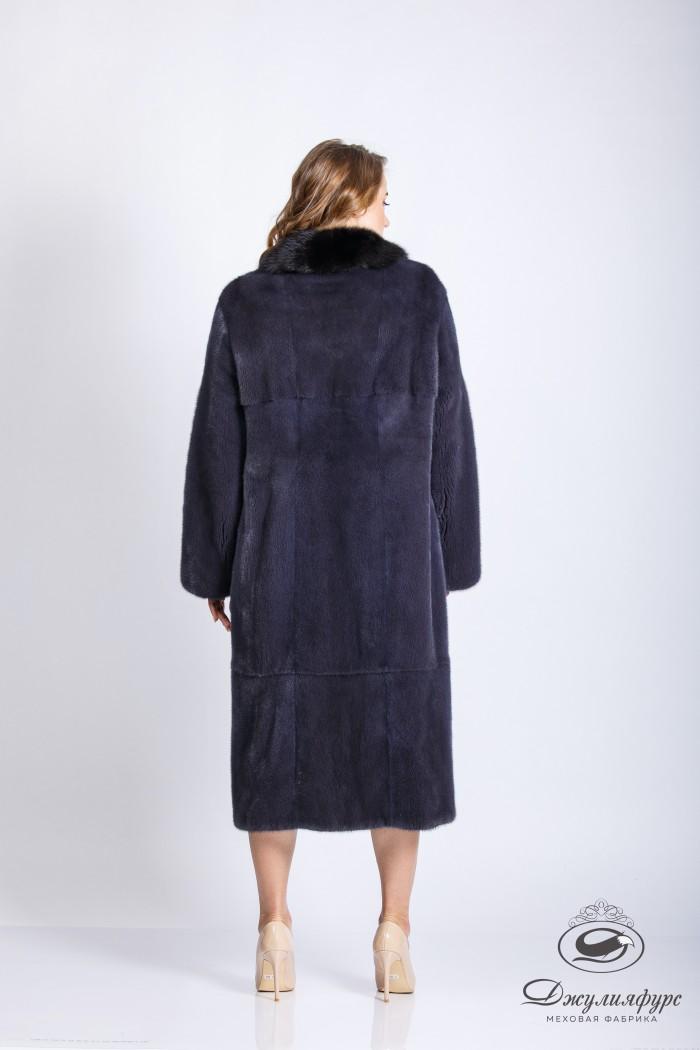 Пальто из норки М-2111