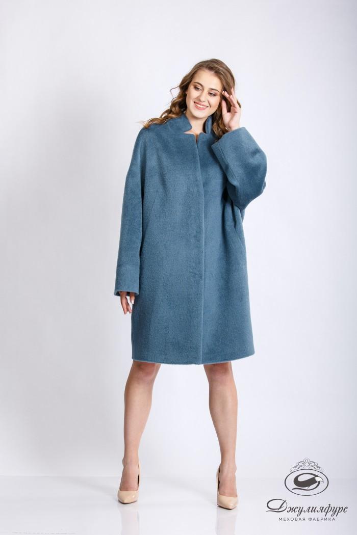 Пальто с альпакой П-04