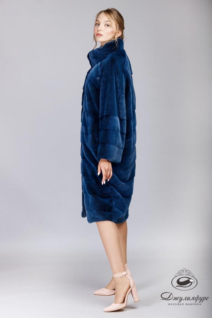 Пальто из норки А-193
