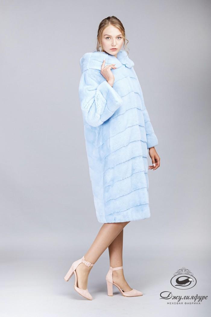 Пальто из норки А-194