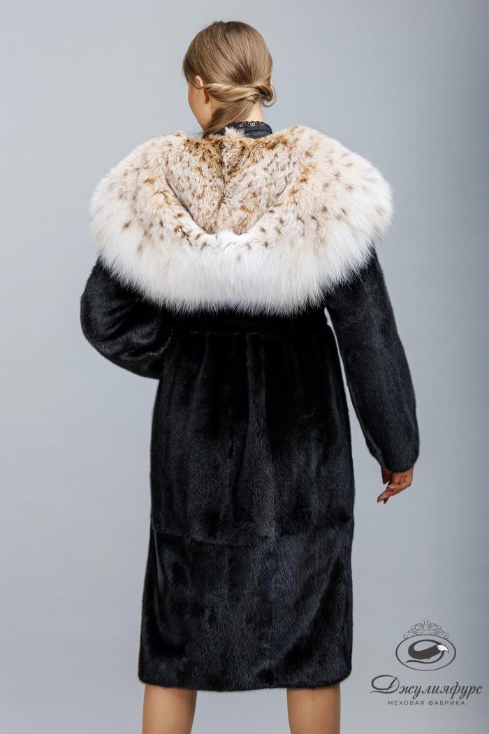 Пальто из норки М-2010