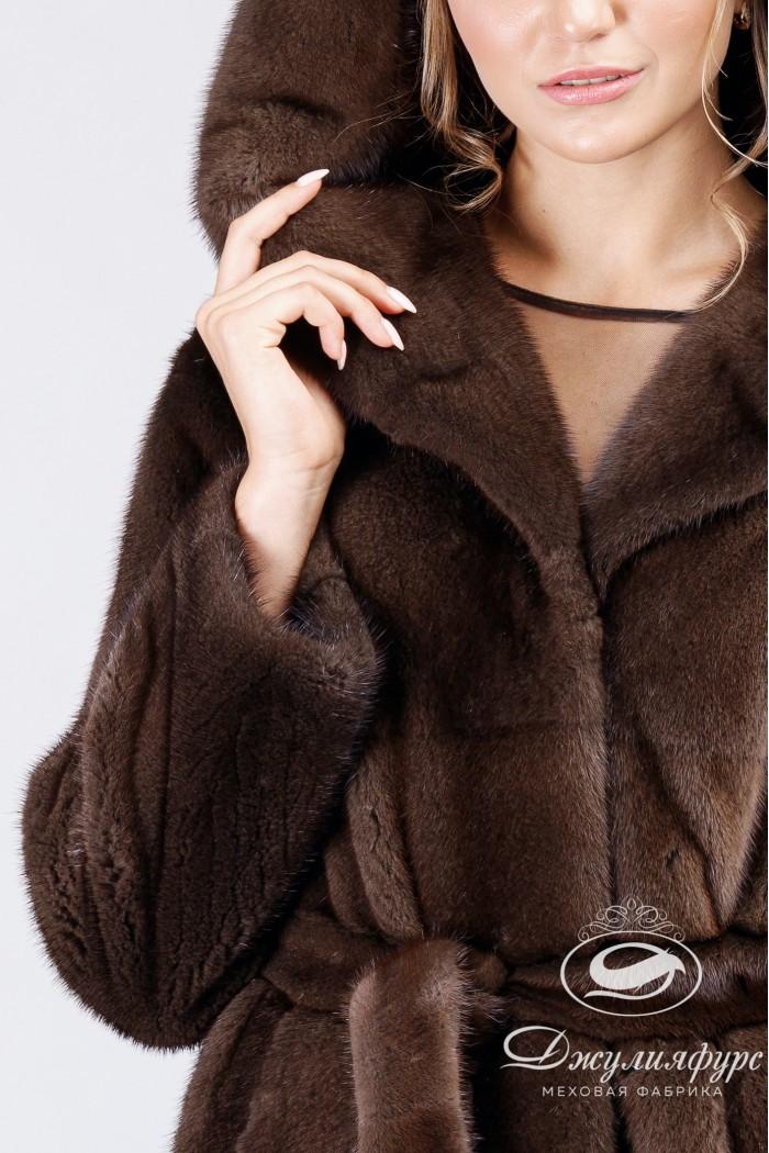 Пальто из норки А-195