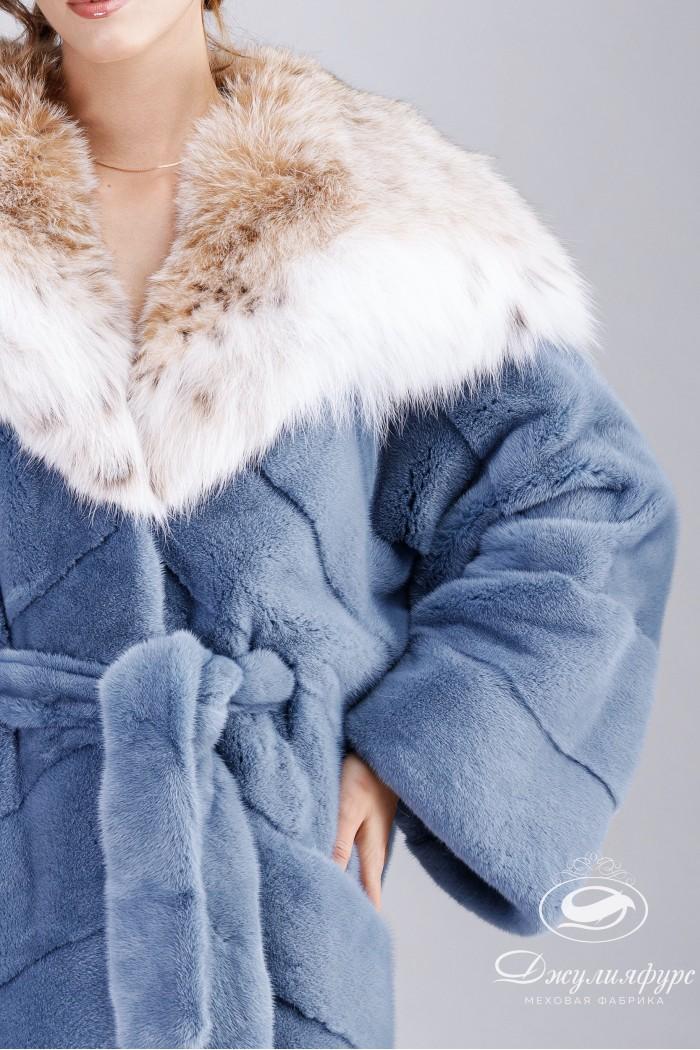Пальто из норки М-2016