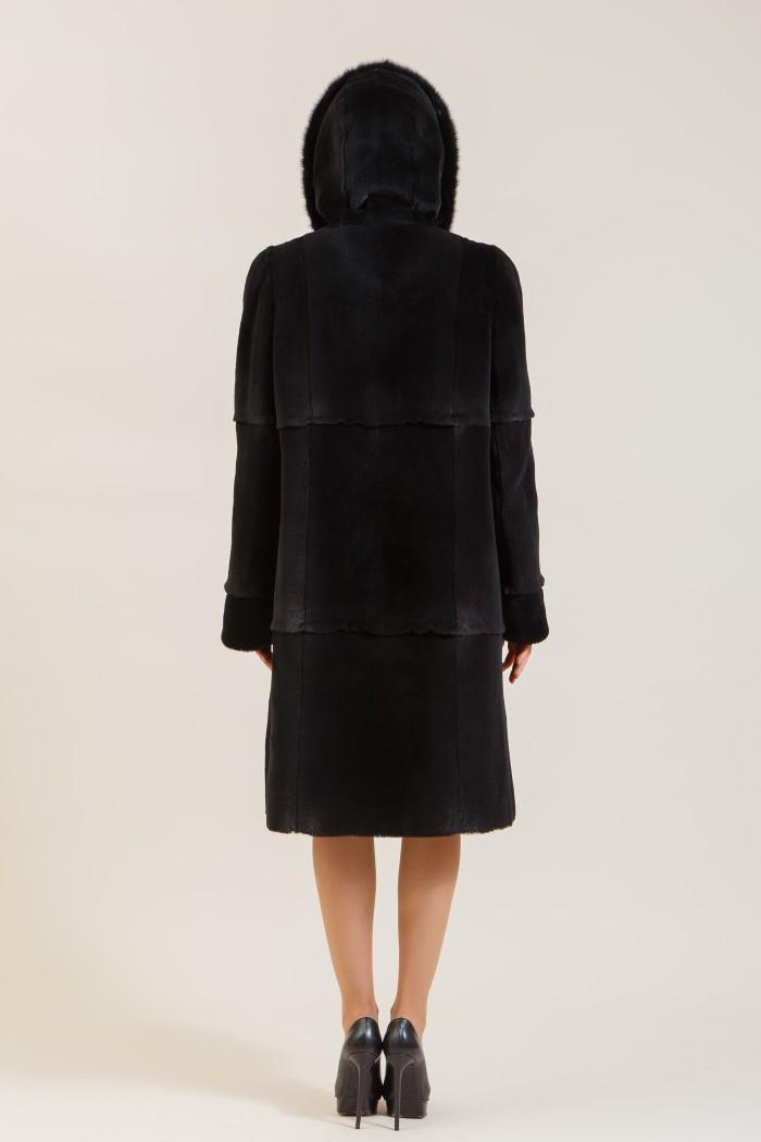 Пальто из нутрии Н-02