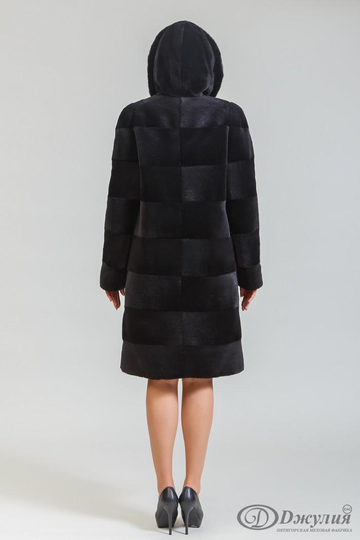 Пальто из нутрии Н-06